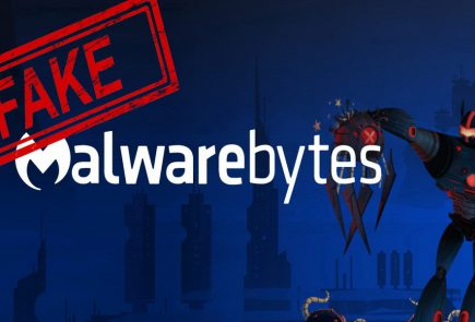 fake version of Malwarebytes antivirus