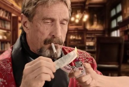 John McAfee charged with fraud