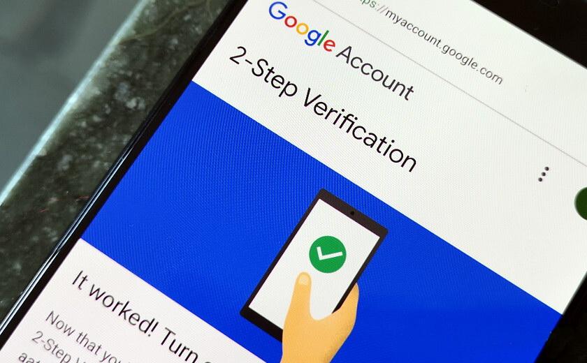 Google 2-Step mandatory verification