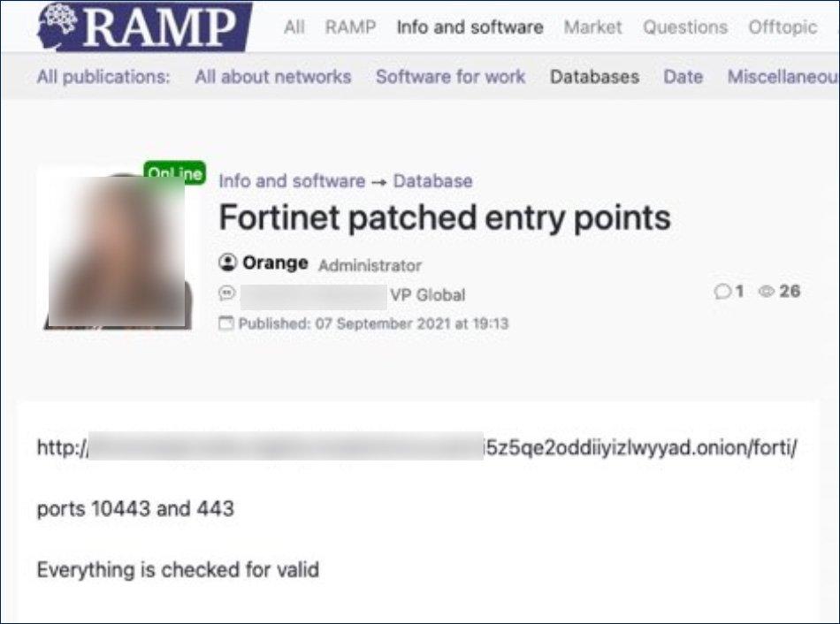 hack forum RAMP